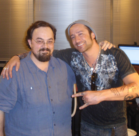 josh steely of Daughtry and NYARTMAN